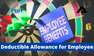 Read more about the article Deductible Allowance for salaried persons u/s 60
